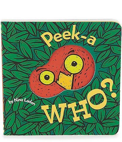 Chronicle Books Kid Peek-A-Who Book