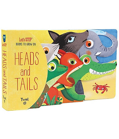 Chronicle Books Let's STEP Books to Grow On: Heads And Tails Book