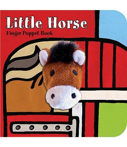 Chronicle Books Little Horse Finger Puppet Book