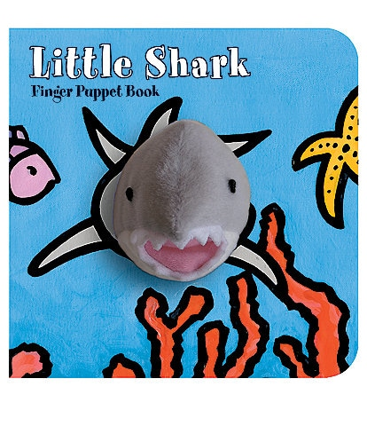 Chronicle Books Little Shark Finger Puppet Book
