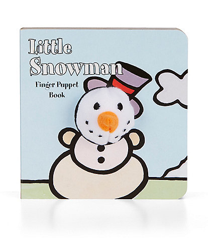 Chronicle Books Little Snowman Finger Puppet Book