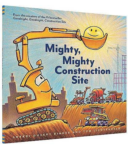 Chronicle Books Mighty, Mighty Construction Site Book