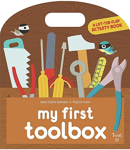 Chronicle Books My First Toolbox Lift-the-Flap Activity Book