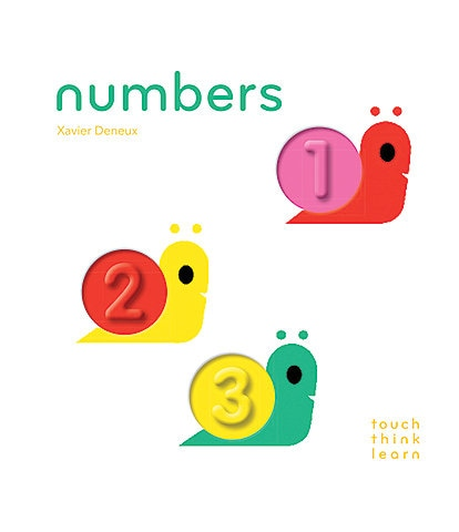 Chronicle Books TouchThinkLearn: Numbers Book