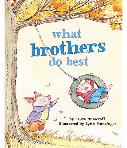 Chronicle Books What Brothers Do Best Book