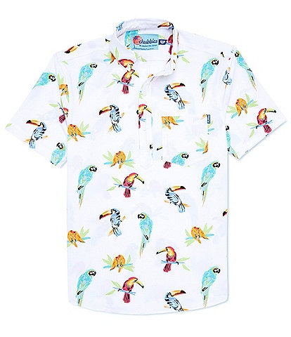 Chubbies The Dude Where's Macaw Short-Sleeve Stretch Shirt