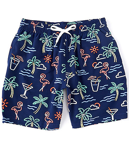 Chubbies The Neon Lights 7#double; Inseam Stretch Swim Trunks