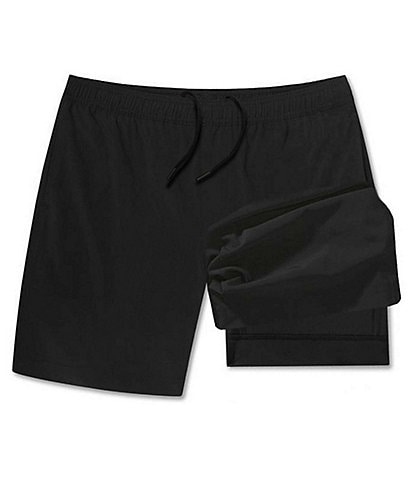Chubbies The Secret Agents 5.5#double; Inseam Compression Lined Shorts
