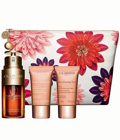Clarins Extra-Firming and Double Serum Gift Set