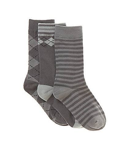 Class Club Boys 3-Pack Argyle Socks