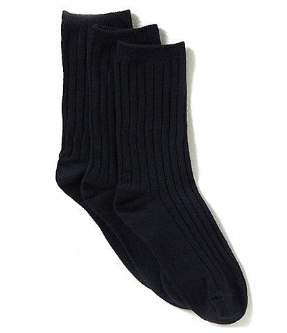 Class Club Boys 3-Pack Crew Dress Socks