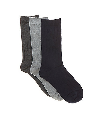 Class Club Boys 3-Pack Dress Socks