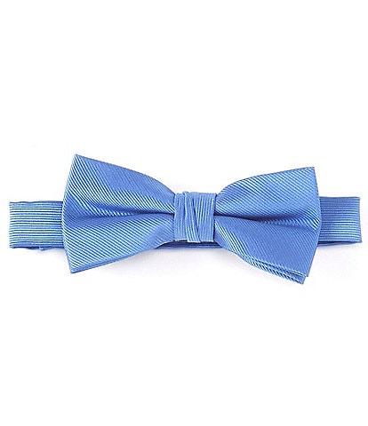 Class Club Boys Basic Solid Silk Bow Tie