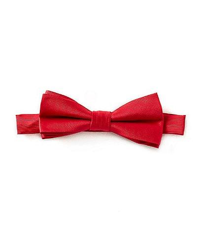 Class Club Boys Basic Solid Bow Tie