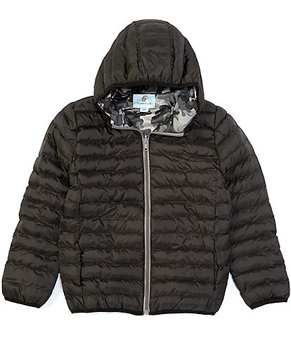 Class Club Big Boys 8-20 Hooded Puffer Jacket