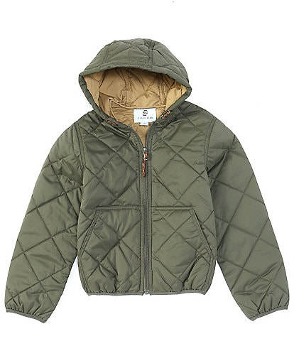 Class Club Big Boys 8-20 Hooded Quilted Jacket