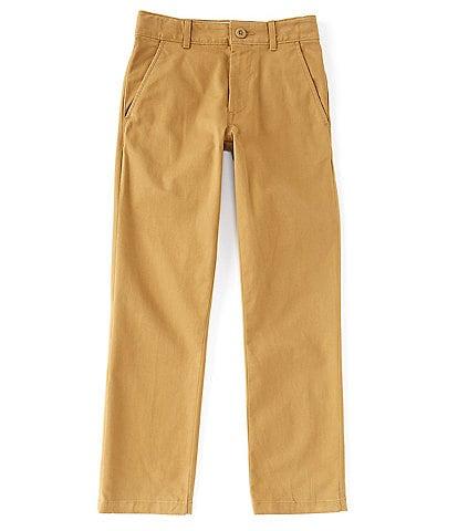 Class Club Big Boys 8-20 Modern-Fit Flat-Front Stretch Twill Pants