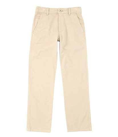 Class Club Big Boys 8-20 Modern-Fit Flat-Front Stretch Twill Pants