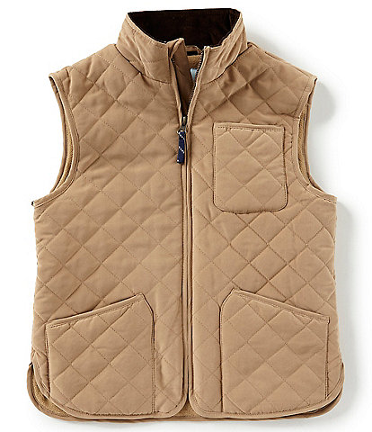 Class Club Big Boys 8-20 Peached Quilted Vest