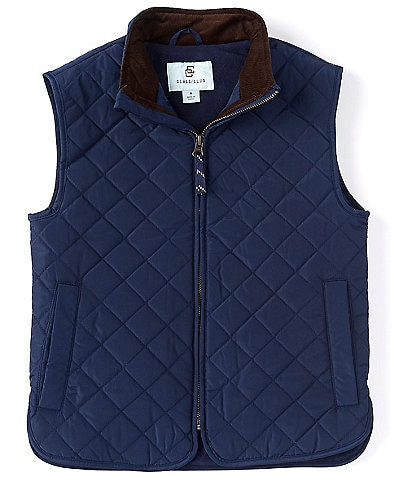 Class Club Big Boys 8-20 Quilted Zipper Vest