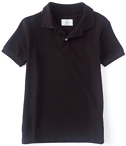 Class Club Big Boys 8-20 Short-Sleeve Pique Polo Shirt