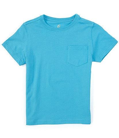Class Club Big Boys 8-20 Short Sleeve Soft Jersey Crew T-Shirt