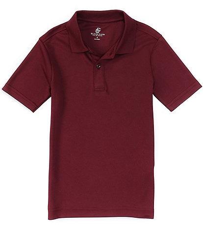 Class Club Big Boys 8-20 Short-Sleeve Synthetic Performance Polo Shirt