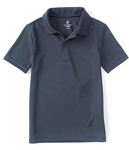 Class Club Big Boys 8-20 Short-Sleeve Synthetic Polo Shirt