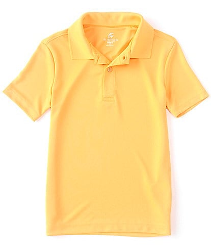 Class Club Big Boys 8-20 Short-Sleeve Synthetic Polo Shirt