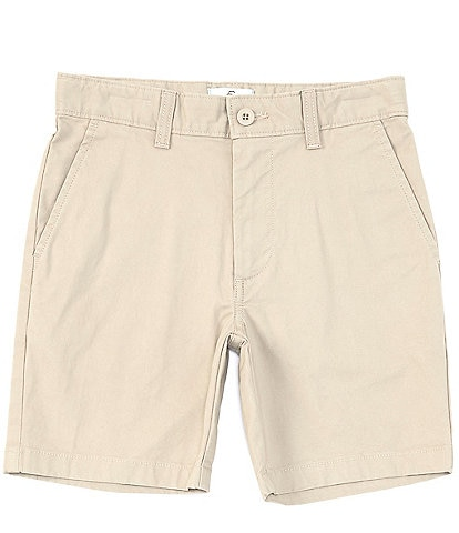 Class Club Big Boys 8-20 Stretch Twill Mid-Length Shorts