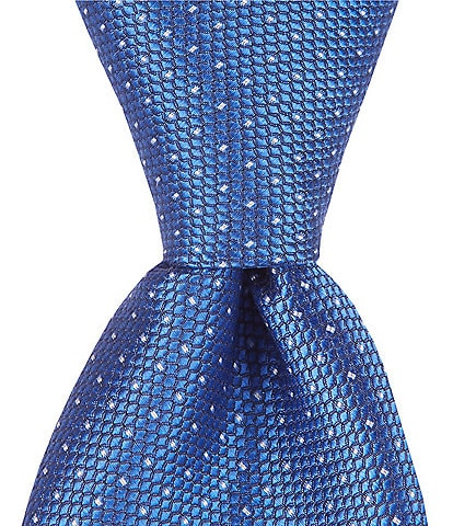 Class Club Class Club Gold Label Boys 50#double; Mini Dotted Silk Tie
