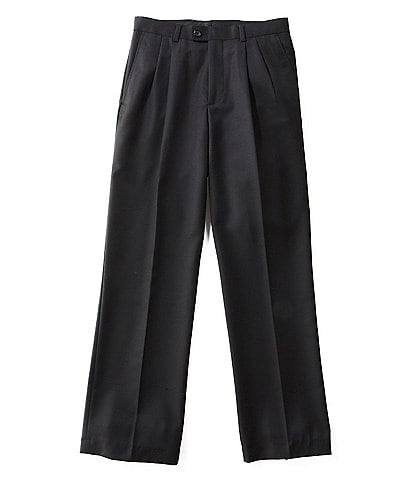 Class Club Gold Label Big Boys 8-20 Husky Pleated Dress Pants