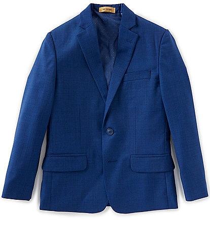 Class Club Gold Label Big Boys 8-20 Modern Fit French Blue Blazer