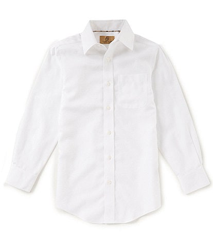 Class Club Gold Label Big Boys 8-20 Non-Iron Button-Front Shirt