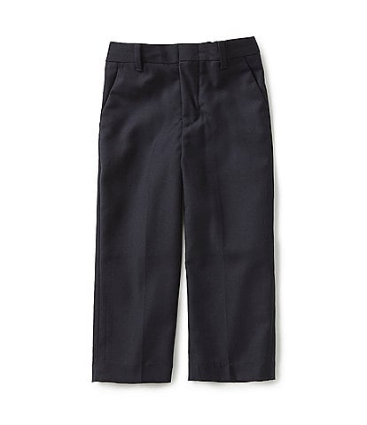 Class Club Gold Label Little Boys 2T-7 Flat-Front Dress Pants