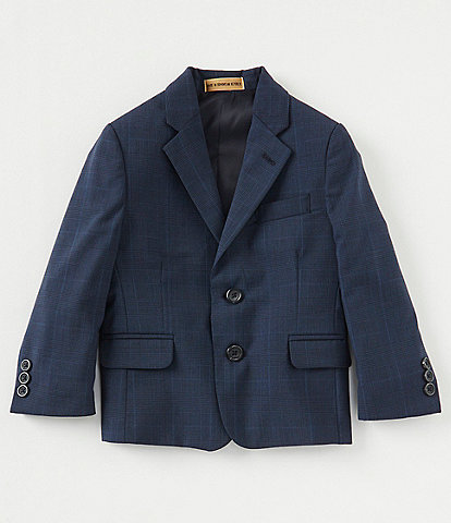 Class Club Gold Label Little Boys 2T-7 Glen-Plaid Blazer