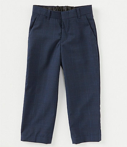 Class Club Gold Label Little Boys 2T-7 Glen-Plaid Dress Pants