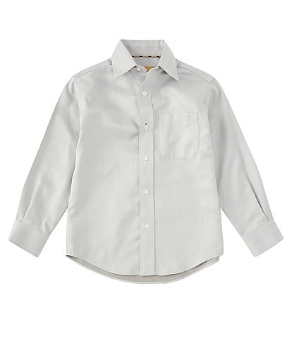 Class Club Gold Label Little Boys 2T-7 Herringbone Non-Iron Sport Shirt