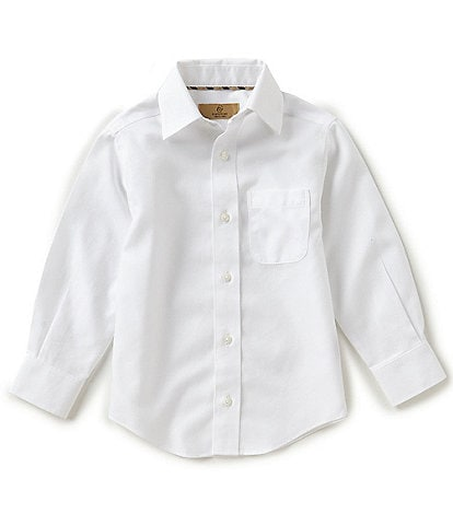 Class Club Gold Label Little Boys 2T-7 Non-Iron Button-Front Shirt