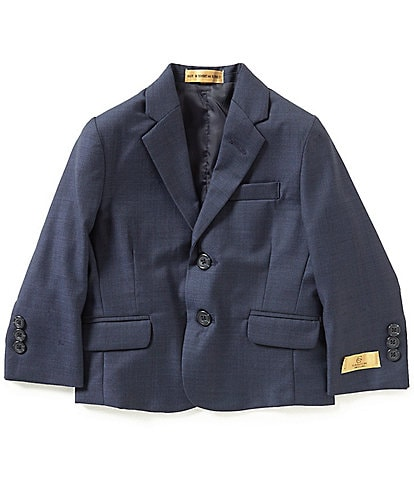 Class Club Gold Label Little Boys 3T-7 Sharkskin Blazer