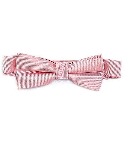 Class Club Gold Label Boys Solid Silk Bow Tie