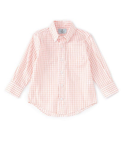 Class Club Little Boys 2T-7 Long-Sleeve Checked Sport Shirt