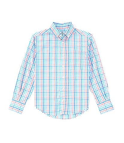 Class Club Little Boys 2T-7 Long-Sleeve Gingham Sport Shirt