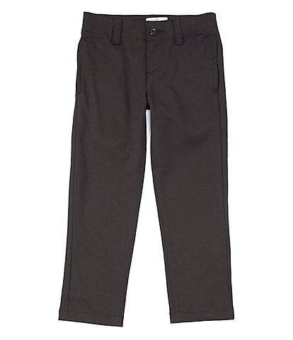 Class Club Little Boys 2T-7 Modern Fit Comfort Stretch Synthetic Pants