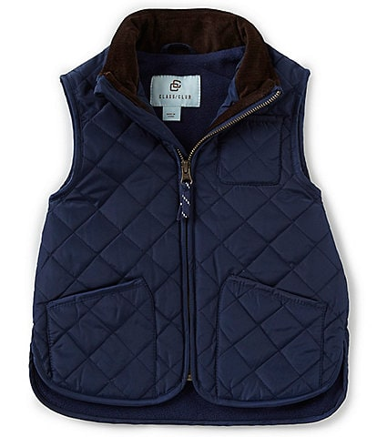Class Club Little Boys 2T-7 Nylon Quilted Vest