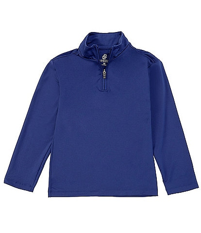 Class Club Little Boys 2T-7 Quarter-Zip Synthetic Polo Pullover