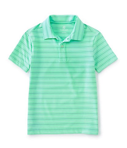 NEW Boys Polo Shirt Top Gray Blue Green Size 10//12