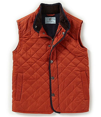 Class Club Little Boys 2T-7 Snap-Front Quilted Vest