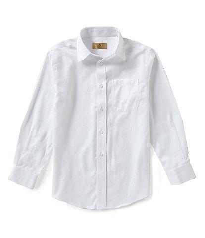 Class Club Little Boys 2T-7 Textured Dress Shirt