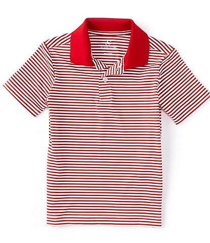 Class Club Little Boys 2T-7T Short-Sleeve Synthetic Stripe Polo Shirt